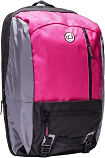 Case-It The Classic Laptop Backpack, Fits 13 Inch and Some 15 Inch Laptops, Magenta (BKP-303-MAG)