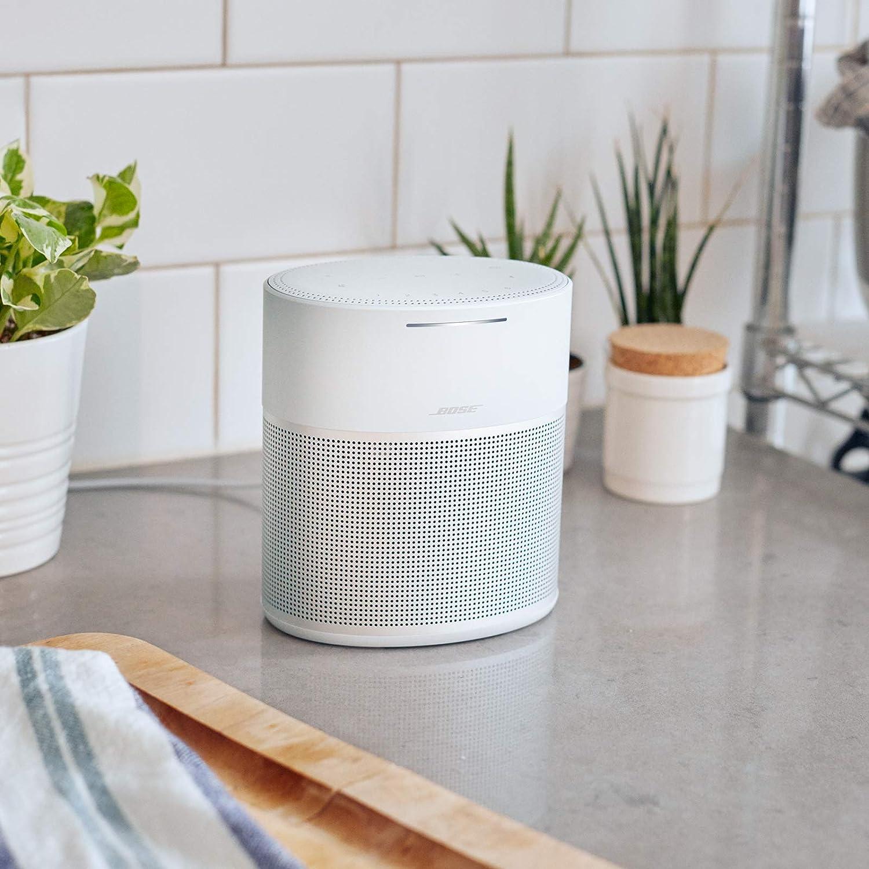 Enceinte Bose Home Speaker 300 avec Amazon Alexa Intégrée - Argent - Test & Avis - Les Meilleures Enceintes Avis.fr