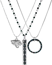 Siskiyou NFL Jacksonville Jaguars Trio Necklace Set