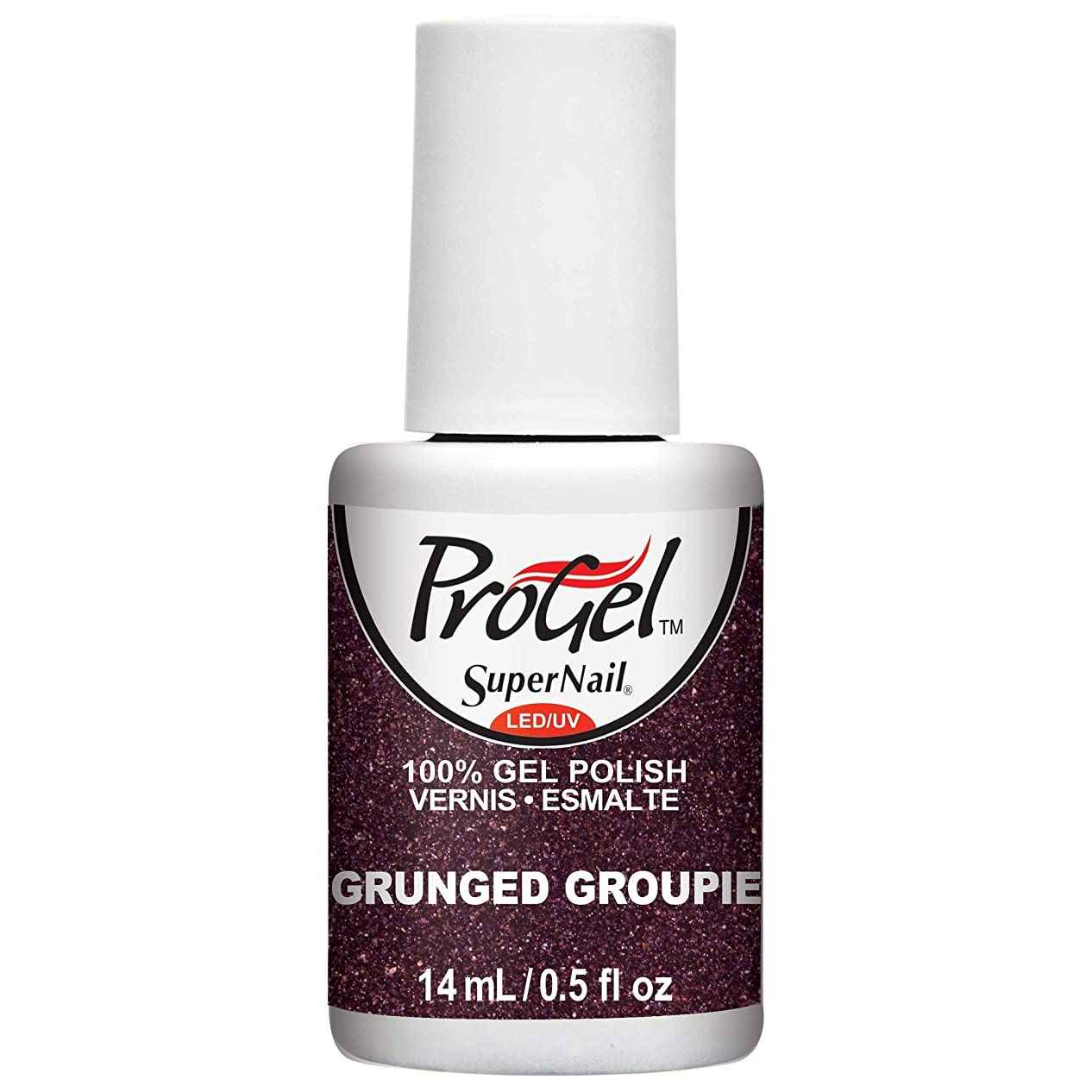 有彩色の方法省略するSuperNail ProGel Gel Polish - Grunged Groupie - 0.5oz/14ml