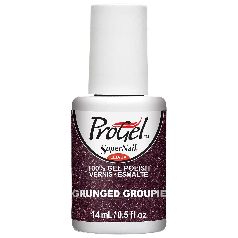 汚す閉塞ページェントSuperNail ProGel Gel Polish - Grunged Groupie - 0.5oz/14ml