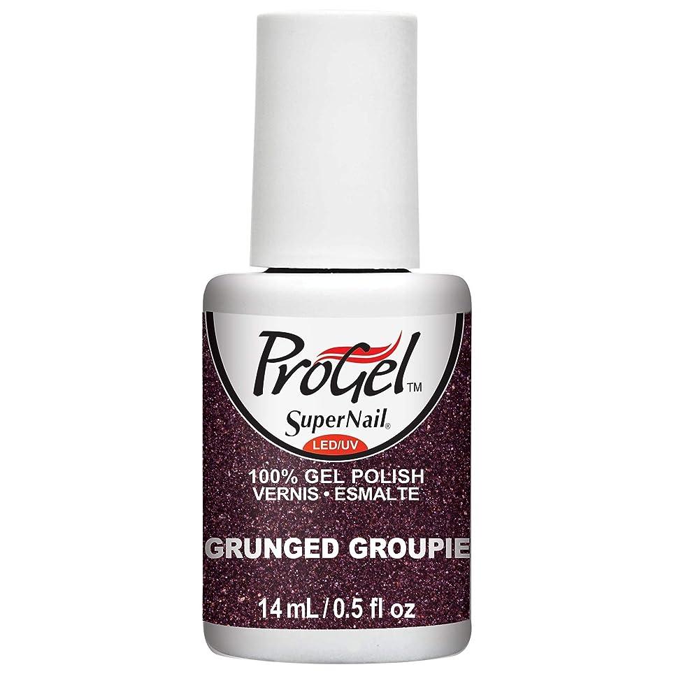 に対してパシフィック強要SuperNail ProGel Gel Polish - Grunged Groupie - 0.5oz/14ml