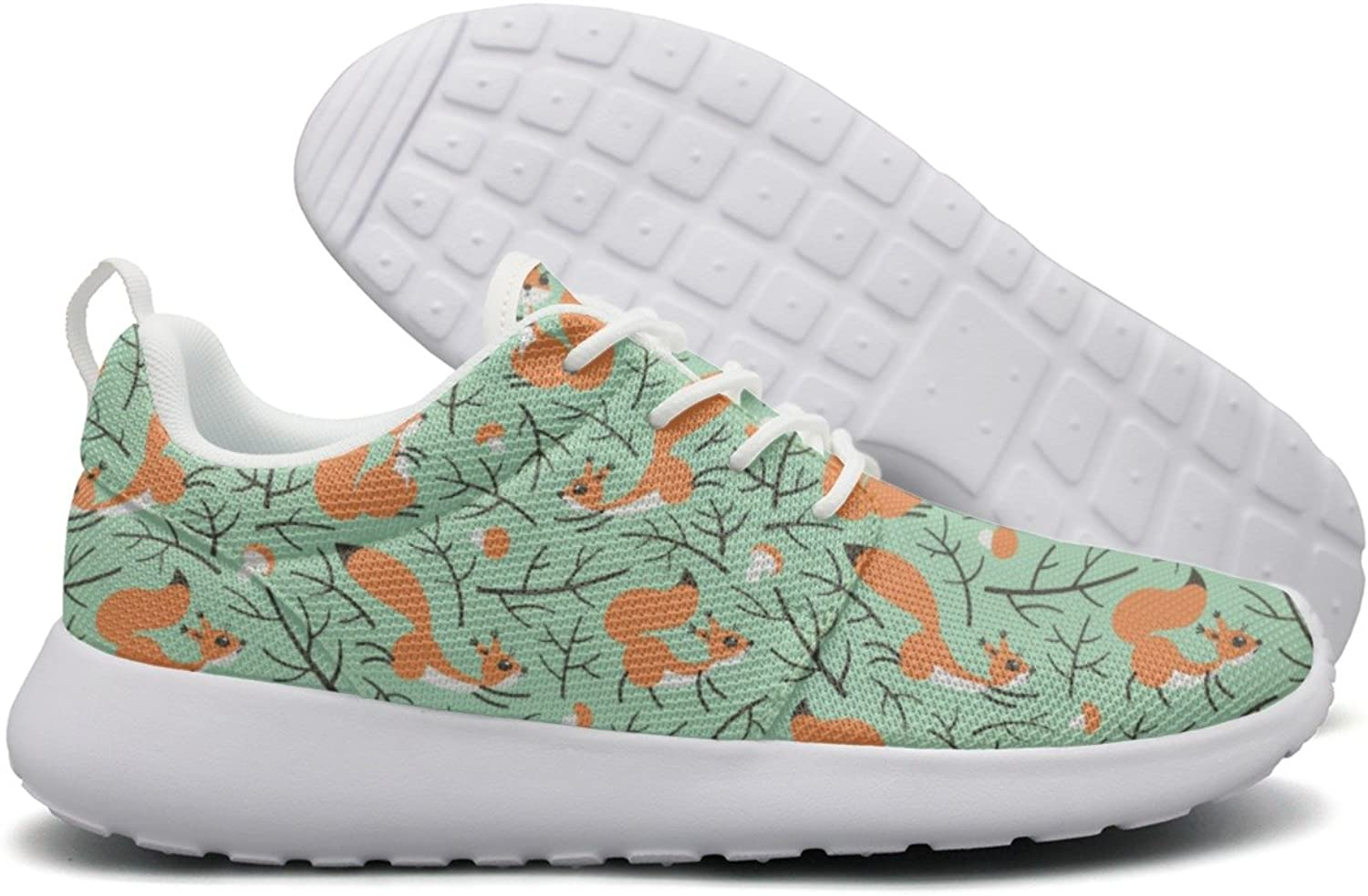 Beautiful Cute Squirrels In The Fall Forest Womens Camping Casual Running shoes Climbing Mini