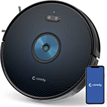 Coredy G850 Robot Vacuum, Smart Navigation, Mopping & Sweeping, 2500Pa Strong Suction, Robotic Vacuum Cleaner, Wi-Fi Conne...