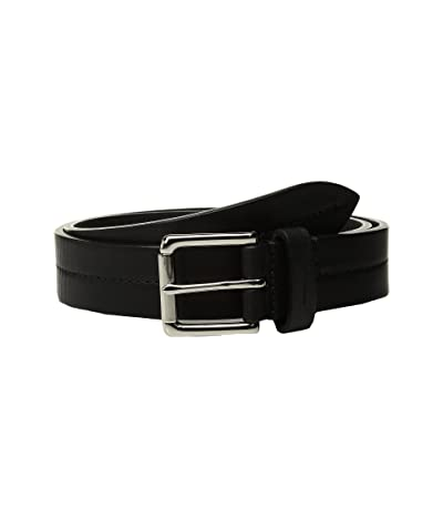 Shinola Detroit Bridle 1 1/4 Center Stitch Roller Belt (Black) Men