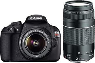 Canon EOS Rebel T5 with 18-55mm and 75-300mm Lenses