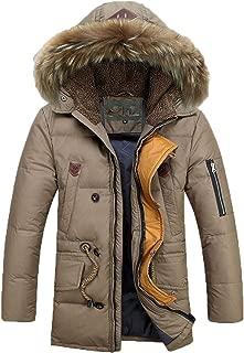 White Duck Down Jacket Winter Jacket Men Coat White Duck Long Thicken Outwear Down Parka