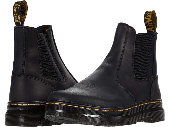 dr martens black chelsea boots