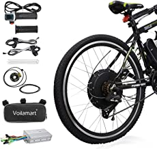"Voilamart Electric Bicycle Kit 26"" Rear Wheel 48V 1000W E-Bike Conversion Kit, Cycling Hub Motor with Intelligent Controll..."