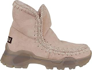 Mou Luxury Fashion Womens FW191000AROBE Pink Ankle Boots | Fall Winter 19