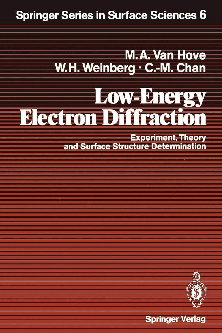 音節夜明けにガラガラLow-Energy Electron Diffraction: Experiment, Theory and Surface Structure Determination (Springer Series in Surface Sciences)