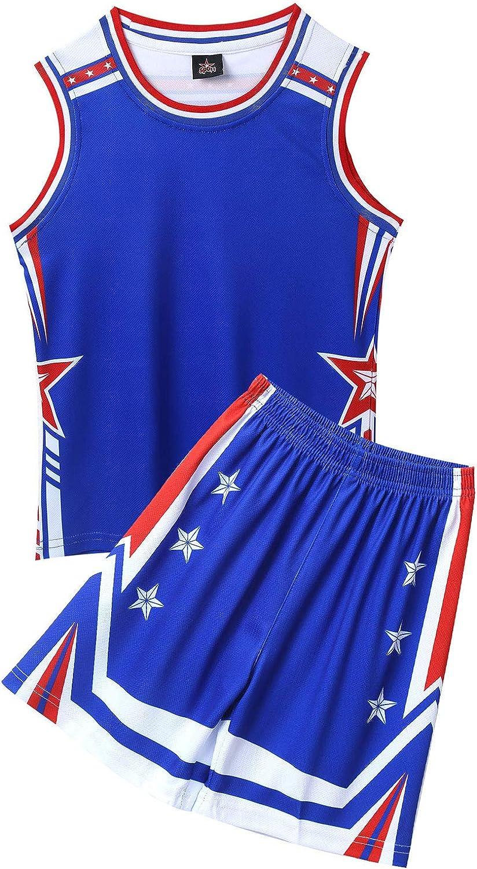 zdhoor Kids Boys Basketball Award Jerseys Team Tops Uniforms Shor Max 48% OFF Tank