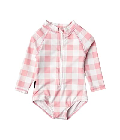 TINY TRIBE All-In-One Rashie (Infant) (Pink) Girl