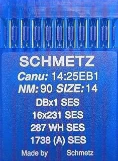 Jumelle aiguille 130//705 H entre un 1,6//70 schmetz