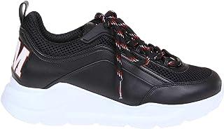 [エムエスジーエム] レディース 2641MDS21113099 ブラック 革 運動靴