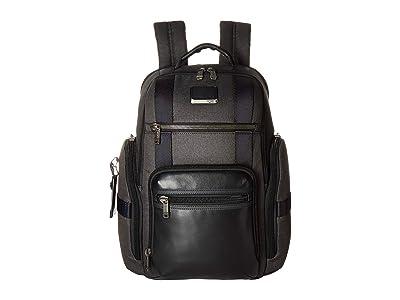 Tumi Alpha Bravo Sheppard Deluxe Brief Pack(r) (Graphite) Briefcase Bags