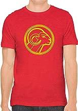 Yellow Aries Star Sign Unisex Premium Crewneck Printed T-Shirt Tee