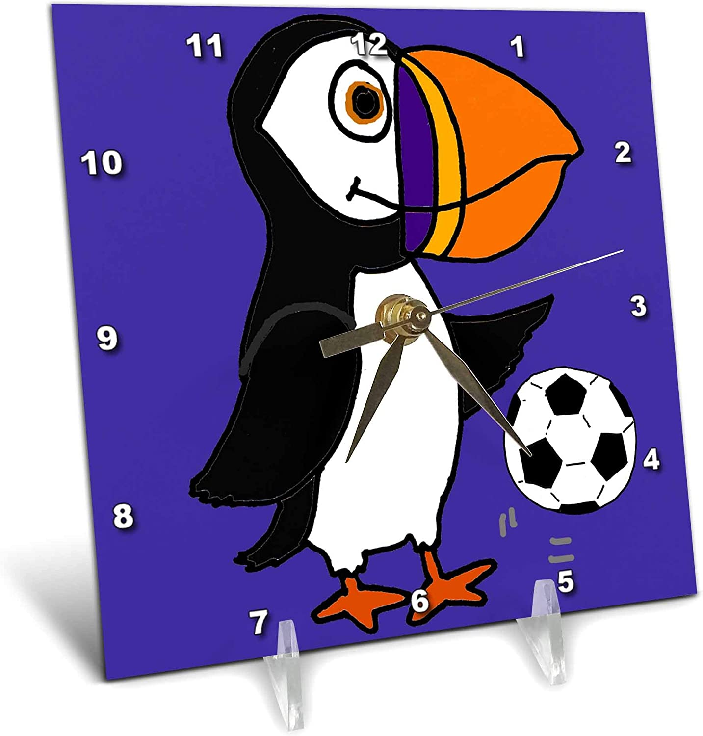 3dRose All Smiles Art - Birds Ranking TOP1 Funny Puffin S Bird Finally popular brand Playing Cute