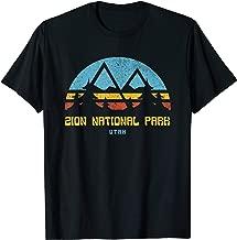 Zion National Park Utah Retro Vintage Hiking Gift T-Shirt