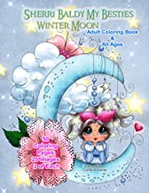 Sherri Baldy My Besties Winter Moon Adult Coloring Book and all ages