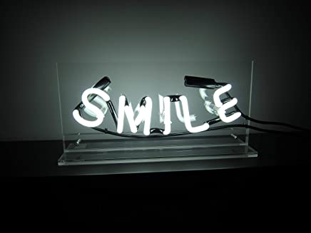 Smile Neon Sign