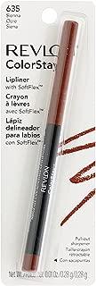 Revlon ColorStay Lipliner with SoftFlex, Sienna [635] 1 ea (Pack of 3)