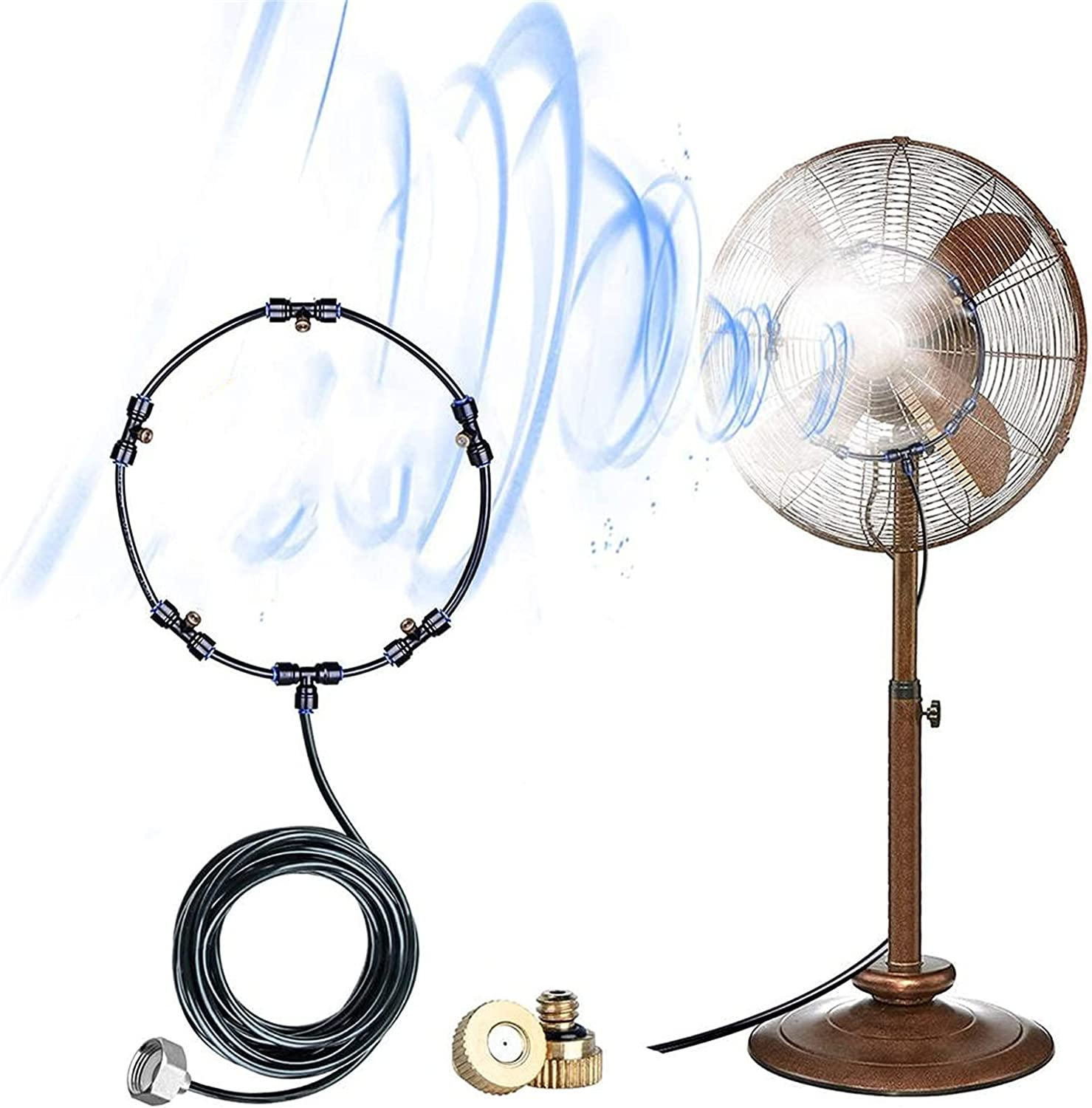 Gmjay Super beauty product restock quality top Fan Misting outlet Kit - Misters with for Outdoor 5 Cooling M