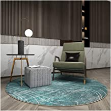 Rugs Rugs Carpets Office Computer Chair Round Floor Protector Mat Living Room Bedroom Non Slip Modern Simplicity, 2 Colors...