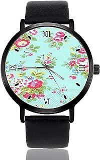 Cath Kidston Trailing Wrist Watch Custom Design Analog Quartz Wathes Black Dial Classic Leather Band Women's Men's Watch
