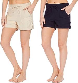 21f022fbf2e6 Amazon.es: pantalones de lino mujer - Pantalones cortos / Mujer: Ropa