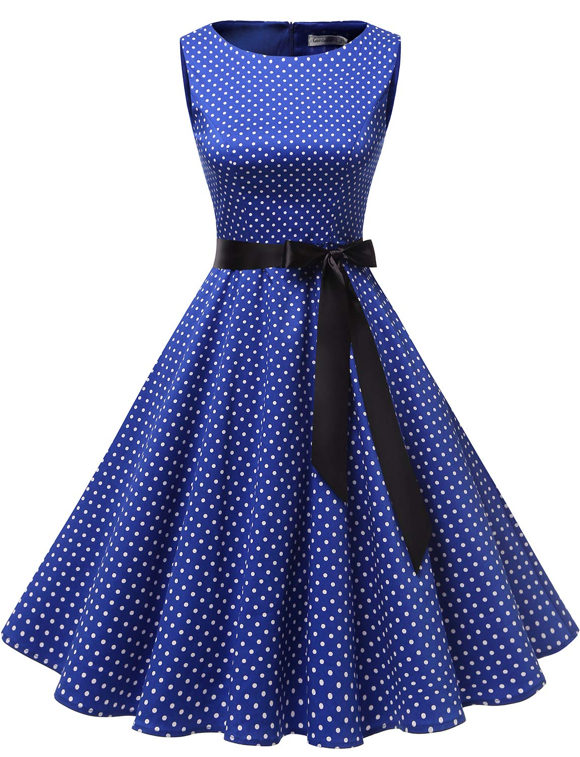 Available at Amazon: Gardenwed Women's Audrey Hepburn Rockabilly Vintage Dress 1950s Retro Cocktail Swing Party Dress