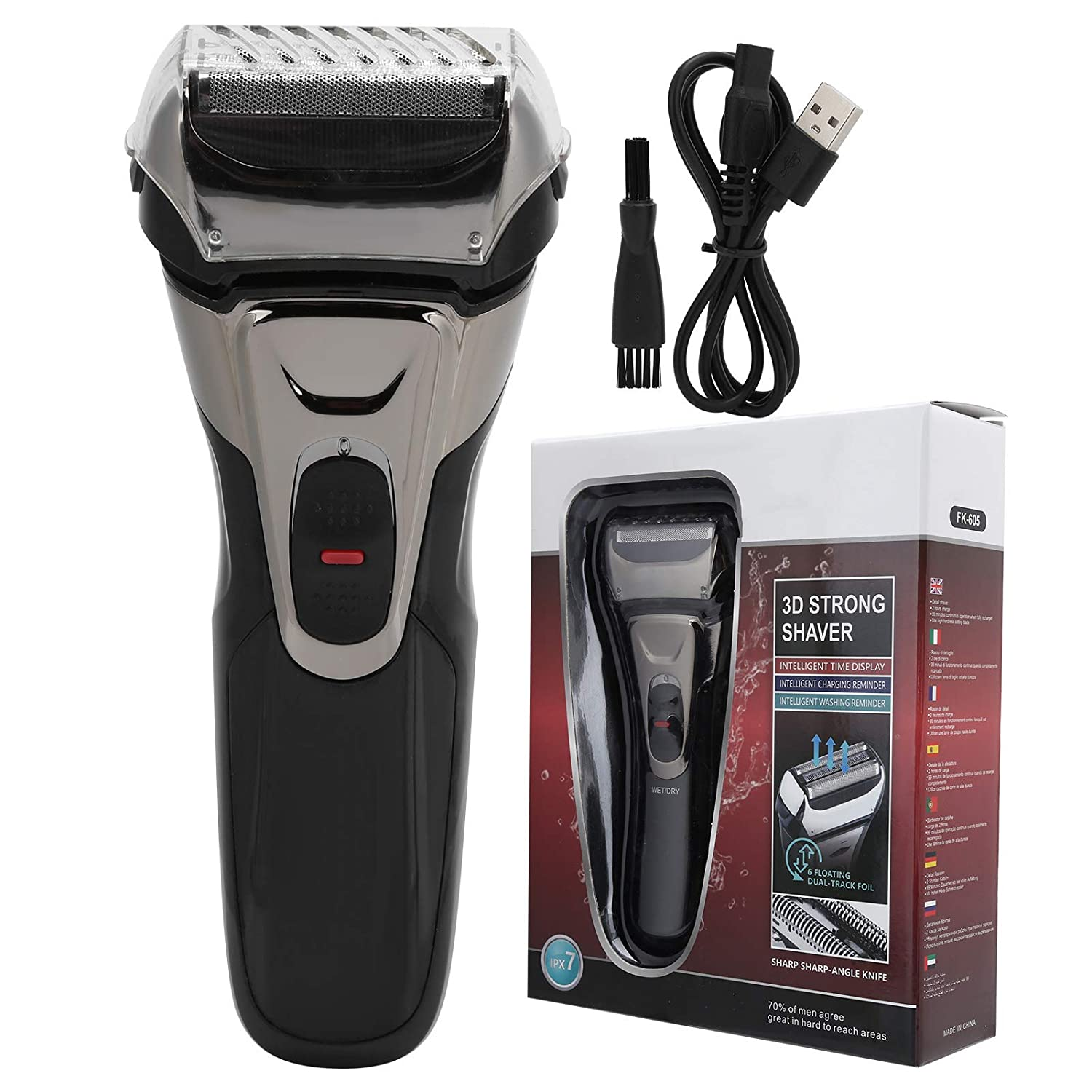 Bargain sale Professional Electric Shaver USB Ranking TOP4 Be Waterproof Portable Charging