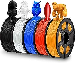 PLA 3D Stylo Fils Filament 3D Print Filament 328 Pieds lin/éaires pour 3D Dessin 1.75 mm 10 Couleurs 32.8 Pieds Chaque