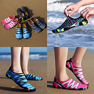 Tickas Unisex Shoes,Men Women Water Shoes Sports Quick Dry Barefoot for Swim Diving Surfing Aqua Pool Beach Walking Yoga Exercise Waking Shoes