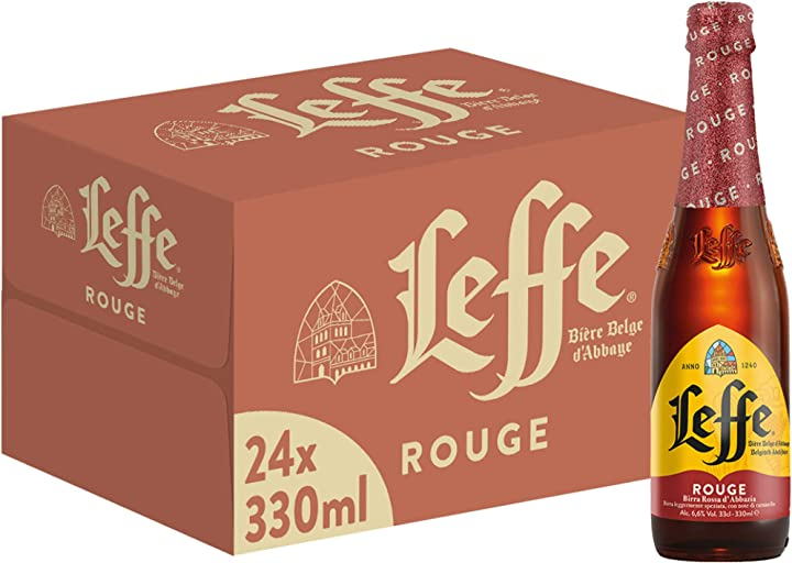 Birra leffe rouge - pacco da 24 x 330 ml 70382
