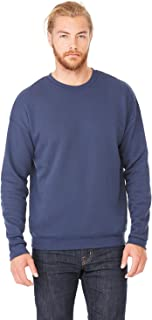 Product of Brand Bella + Canvas Unisex Drop Shoulder Fleece - White - L - (Instant Savings of 5% & More)