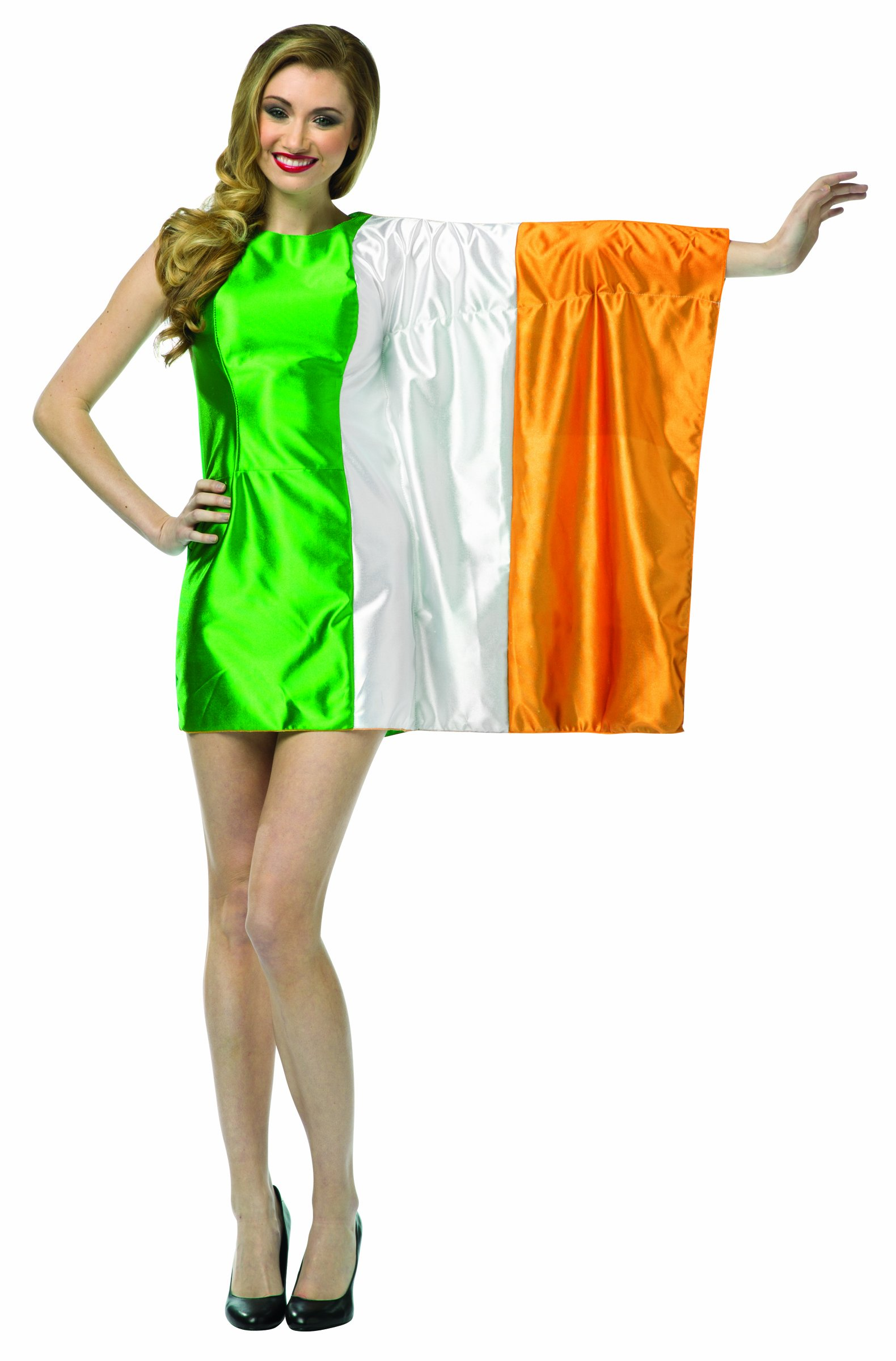 Disfraz de bandera de Irlanda para mujer - S/M: Amazon.es ...