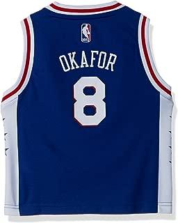 NBA Philadelphia 76ers Toddler Outerstuff Replica Road Player Jersey, Jahlil Okafor, 3T