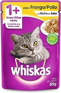 Ração Úmida Para Gatos Whiskas Sachê Frango ao Molho Adultos 85g