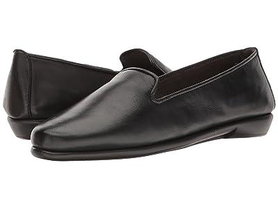 Aerosoles Betunia (Black Leather) Women