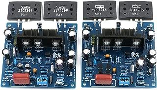2SA1295 + 2SC3264 2pcs MX50 SE Dual 2.0 Channel Amplifier Board 100W+100W Finshined