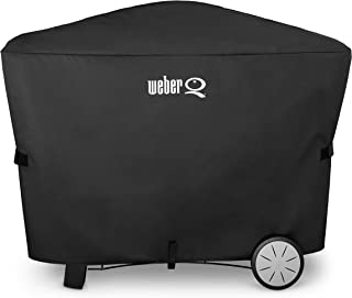 Weber 7112 Q 2000 and 3000 Series Grill Cover, 56.6 x 22 x 39.3 Inches