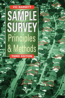 Sample Survey Principles and Methods