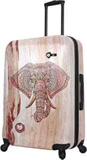 "Mia Toro Joao Wood Elephant 28"", Wood Humbird (Multi) - M1353-28IN-ELENN"