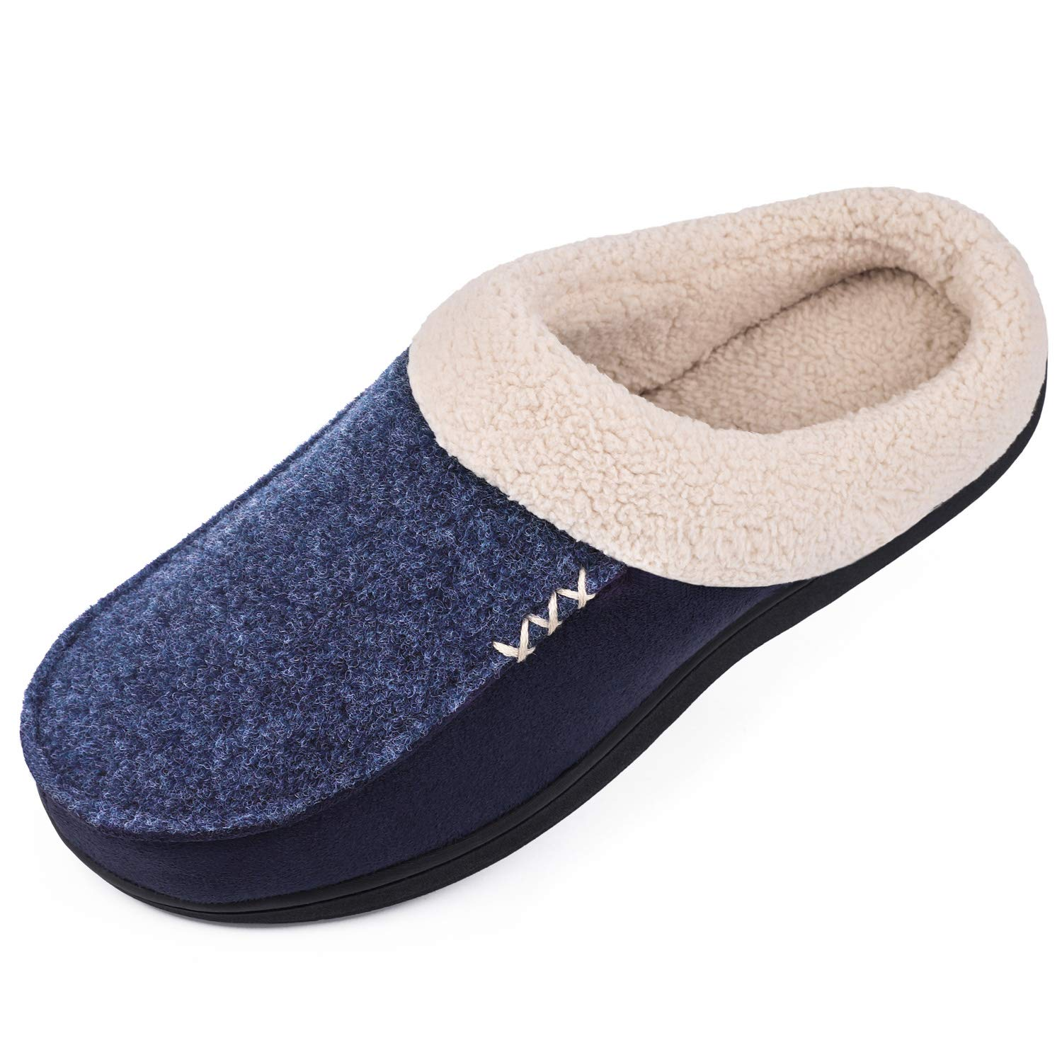 Image of Indoor/Outdoor Suede Slippers for Men - See More Colors