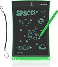 NEWYES 8.5 Inches LCD Writing Tablet with Lock Function Office Whiteboard Bulletin Board Kitchen Memo Notice Fridge Board Magnetic Daily Planner Gifts for kids (Green+Lanyard)
