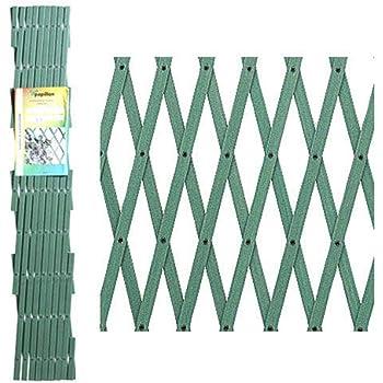 Papillon 8091565 Celosia PVC Fija Verde Set 5 Piezas de 2 x ...