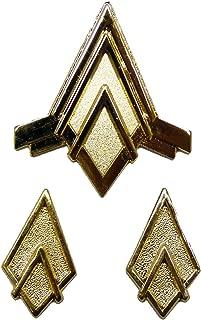 Battlestar Galactica JUNIOR OFFICERS RANK PIN SET