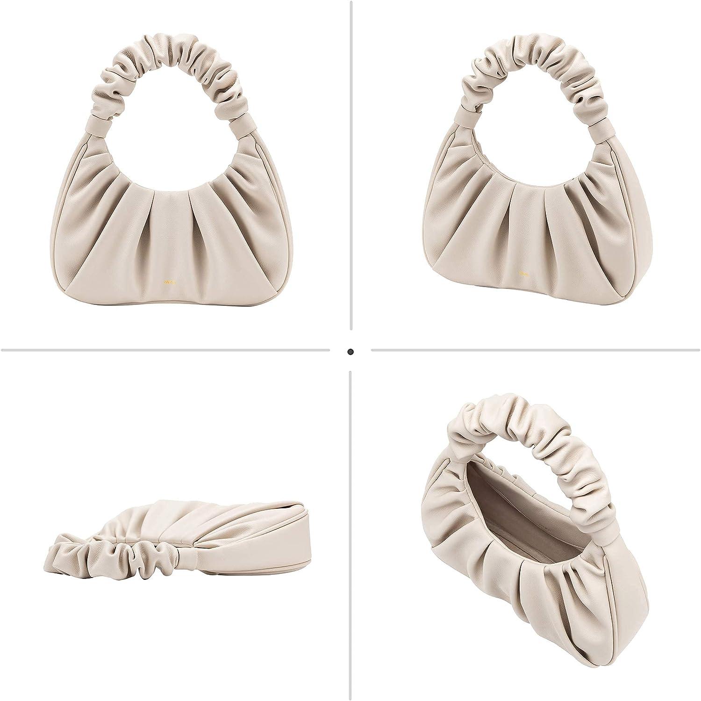 JW PEI Gabbi Bag Chic Pouch Bag Vegan Leather Vintage Hobo Handbag fashionable for Women