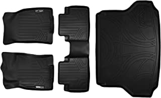 MAXLINER Floor Mats and Cargo Liner Set Black for 2014-2018 Nissan Rogue without 3rd Row Seats (No Hybrid, Rogue Sport, or Select Models)